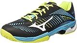 Mizuno Wave Exceed Tour CC, Zapatillas de Tenis Para Hombre, Multicolor (Blueatollwhiteblack...