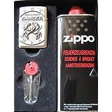 Zippo coffret cadeau avec signe du zodiaque cancer de et à l'essence zippo lot !