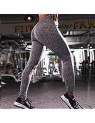 PFJWFE Push Up Fitness GymWomen Solid Yoga Pants Elastic Running Sport Leggings Sexy Work out Active Wear Medias Femeninas