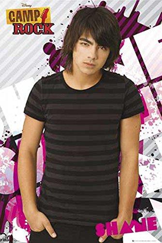 Camp Rock - Jonas Brothers - Shane pin up - Filmposter Kino Movie TV-Serie Musik - Grösse 61x91,5 cm + 2 St. Posterleisten Holz 61,5 cm