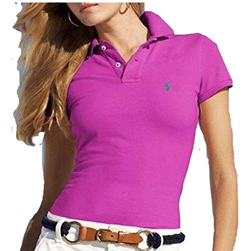 Ralph Lauren Damen Poloshirt Violett