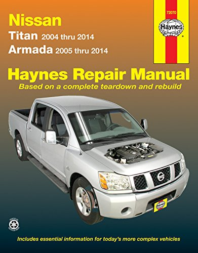 Nissan Titan & Armada Automotive Repair Manual (Haynes Repair Manual - Titan Motor Nissan