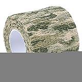 Zhuhaimei,Imprägniern Sie Vlies-Klebeband des Camouflage-4.5M im Freien(Color:Dschungel-Camouflage)