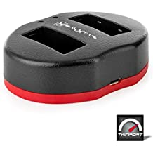 Baxxtar USB Dual cargador TWIN PORT 1817 para la batería Canon LP-E17 a Canon EOS 77D 750D 760D 800D M3 M5 M6 etc.