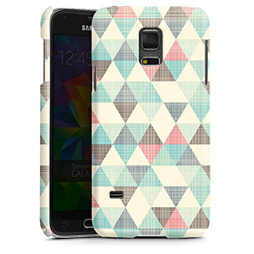 samsung-galaxy-s5-mini-hulle-premium-case-schutz-cover-dreiecke-vintage-muster-pastell