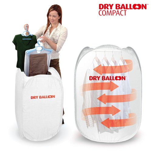 Thermic Dynamics Dry Balloon Compact - Secadora Portátil para Ropa, Nailon, Blanco, 50 x 48 x 90 cm