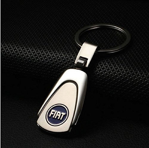 fiat-pearshaped-deluxe-stainless-steel-logo-keyring-with-box