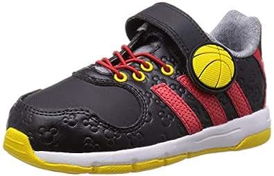 adidas Disney Mickey, Chaussures de Fitness mixte enfant, Noir (Core Black/Vivid Red/Super Yellow), 25 EU (UK child 7.5 Enfant UK)