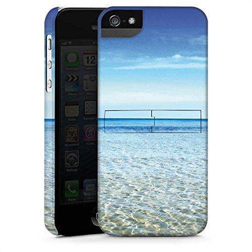 Apple iPhone X Silikon Hülle Case Schutzhülle Horizont Meer Urlaub Premium Case StandUp