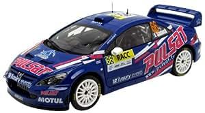 Sunstar - 4697 - Véhicule Miniature - Peugeot 307 WRC - Racc Rally Catalunya 2009 - Echelle 1/18