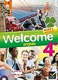 Anglais 4e Palier 2 Nveaux A2/B1 Welcome (1CD audio)