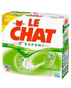 Le Chat Expert Lessive en Poudre Boîte 2,16 kg / 27 Lavages