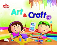 GIKSO Art and Craft Activity Book - 4 for Kids Age 7 to 10 Years Old Includes Colouring (English) = Reprinted