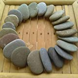 15 Strand Steine 2-4 cm zum Basteln von dem Irischen Meer