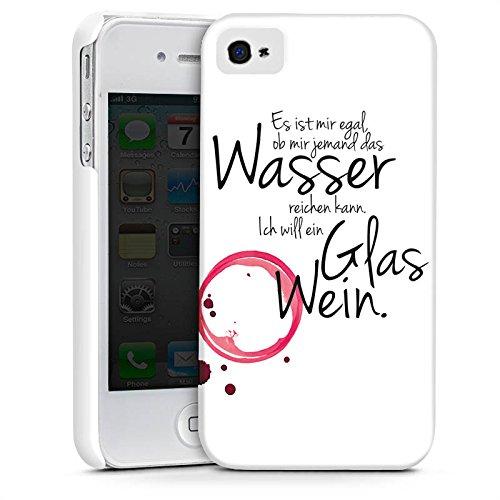 Apple iPhone 7 Plus Hülle Case Handyhülle Wein Spruch Lustig Premium Case glänzend