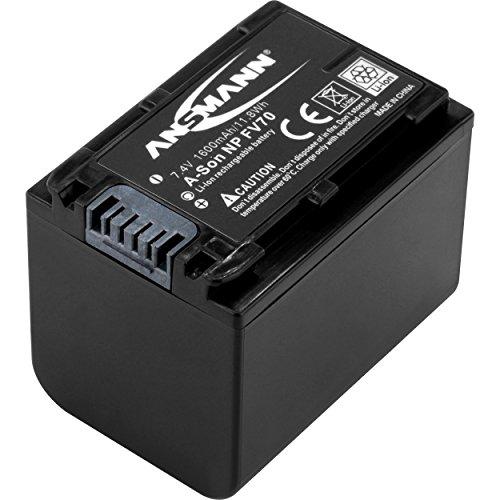ANSMANN Li-Ion Akku A-Pen D-Li 109 7 4V / Typ 1100mAh / Leistungsstarke Akkubatterie für Foto Digitalkameras - der perfekte Ersatzakku für Pentax Digicam uvm.