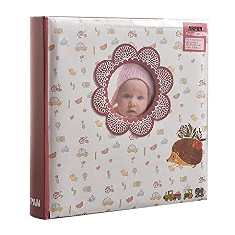 Premium Unisex Baby Memory Book by Arpan – Photo Album With 200 Pockets For 6