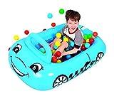 Jilong Car Ball-Pool 117x79x50 cm Bällebad mit Spielbälle Planschbecken Kinderpool Becken inkl. 25 luftgefüllte Bälle, auch als Swimming Pool mit Wasser nutzbar