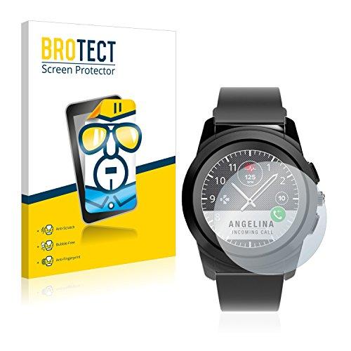 BROTECT Schutzfolie kompatibel mit MyKronoz ZeTime Regular (44 mm) [2er Pack] klare Bildschirmschutz-Folie