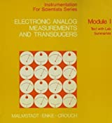 Electronic Analog Measurements and Transdu [Paperback] by Malmstadt, Howard