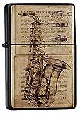 Essence instrument de musique de saxophone Imprimé Briquet