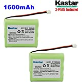 Kastar 2-PACK AAX3 3.6V 1600mAh EH Ni-MH Rechargeable Battery For Vtech