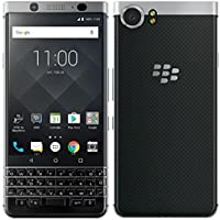 "BlackBerry KEYone Smartphone Silver Edition 4G, RAM 3GB, Memoria 32GB , Display Multi-touch 4.5"" - 1620 x 1080 pixels - Flat IPS - 3:2, Tastiera Qwerty, Nero [Italia]"