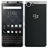 BlackBerry KEYone Smartphone Silver Edition 4G, RAM 3GB, Memoria 32GB, Display Multi-touch 4.5' - 1620 x 1080 pixels - Flat IPS - 3:2, Tastiera Qwerty, Nero [Italia]