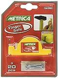 Metrica Finger Safe, gelb, 69997