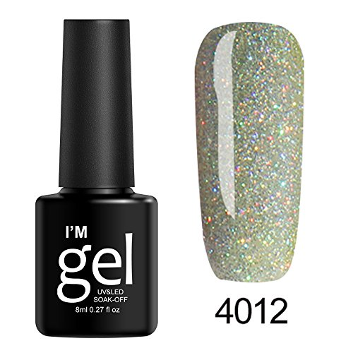 Berrose Star Nagelpolitur Nail Shining UV Gel Polish tränken Art Topcoat Lack Infinite Shine...