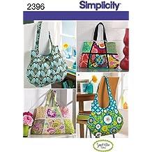 Simplicity 2396 - Patrón de costura para bolsos