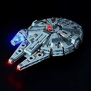Briksmax Kit di Illuminazione a Led Per Star Wars Millennium Falcon, Compatibile con il Modello Lego 75105 Mattoncini da…  LEGO