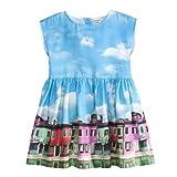 Jottum Mädchen Kleid - Dress Safana Farbe blau, Größe 116
