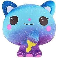 AK. SSI Star Farbe Slow Rebound Cute Ice Cream Cat Spielzeug Dekompression Spielzeug 1Stück