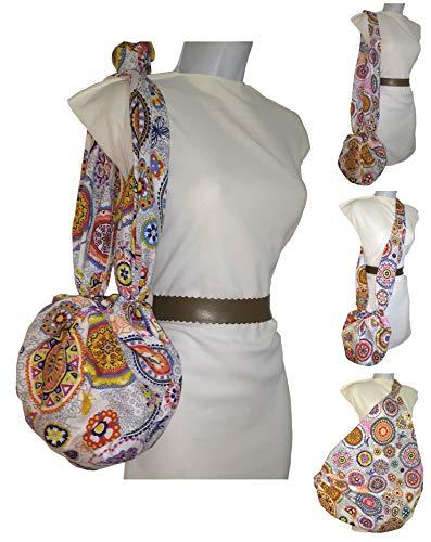 Bolso de tela MANDALA, para la compra, de moda, el casco o la playa. Ecológico. Ahorraras cientos de bolsas de plástico