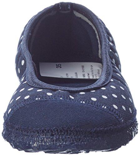 Nanga Damen Spitze Pantoffeln Blau (Marine)