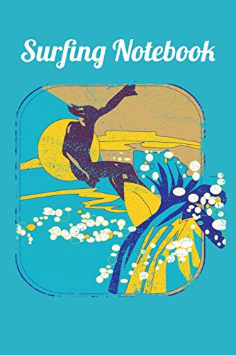 Surfing Notebook: Surfing Notebook, Journal, Or Diary Gift (110 Pages 6