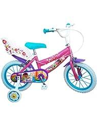 "Doctora Juguetes - Bicicleta para niña, 14"" (Toimsa 632)"