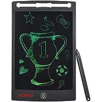 NOBES Tableta de escritura LCD 8.5 Inch,Tablero de dibujo de gráficos,Pizarra magnética del mensaje,Memo Pad Electrónico con Lápiz Táctil de Notas para Niños, Clase, Oficina, Familia (8.5 Inch, Negro)