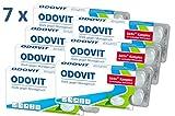 ODOVIT - Stark gegen Mundgeruch - mild im Geschmack, 7x Mundpflege-Bonbons 10er - für nachhaltig frischen Atem - gegen Halitosis