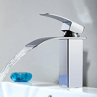 amzdeals cascada grifo baño lavabo grifo mezclador monomando baño grifo lavabo grifo mezclador grifo mezclador