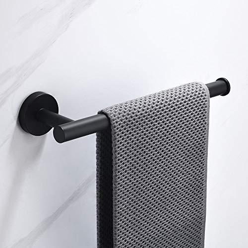 Celbon montaggio a parete anelli portasciugamani acciaio inox 304 portasciugamani da parete,finitura nero
