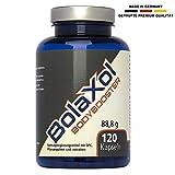 BOLAXOL pastillas para el aumento muscular y definición | Fuerza, potencia y energía | quema-grasas natural | alta dosis OPC | pastillas gastro-resistentes | Mujeres y Hombres 120 cápsulas