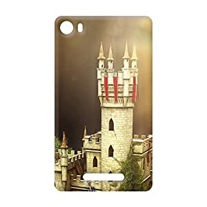 100 Degree Celsius Back Cover for Micromax Unite 3 (Designer Printed Multicolor)