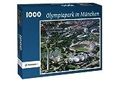 Olympiapark in München - Puzzle 1000 Teile mit Bild von oben