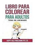 Libro Para Colorear Para Adultos: Tema De Animado