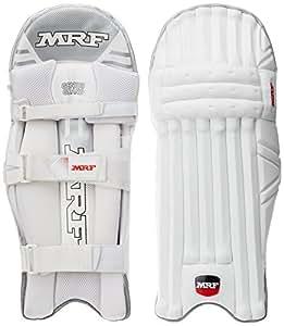 MRF Genius Grand Batting Pads, Men's (White)