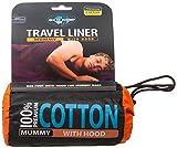 Sea to Summit Cotton Liner Mummy mit Kapuze - Baumwollschlafsack
