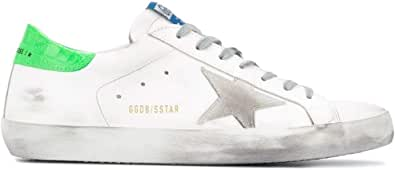 Golden Goose Luxury Fashion Uomo GMF00101F00036210286 Bianco Pelle Sneakers | Autunno-Inverno 20