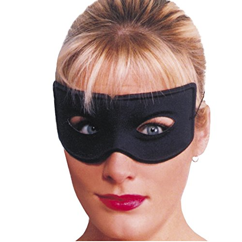 Smiffys Unisex Räuber Augenmaske, One Size, Schwarz,